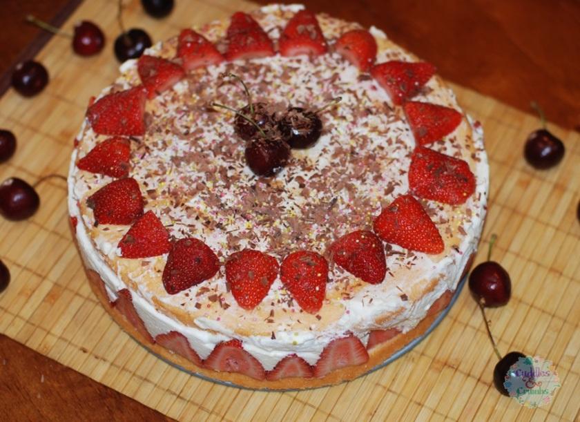 Fresh Fraiser Cake