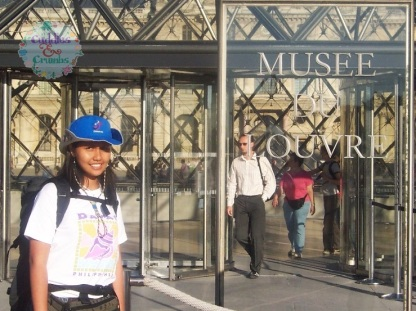 Backpacking in France Musee Du Louvre