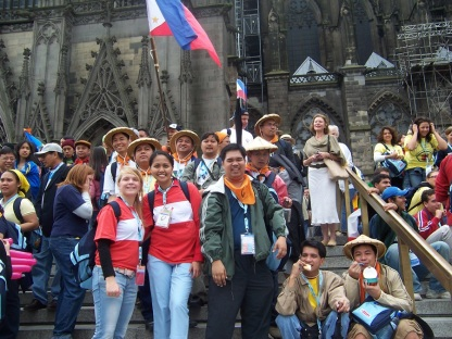 World Youth Day 2005 Koln, Germany Gothic Cathedral