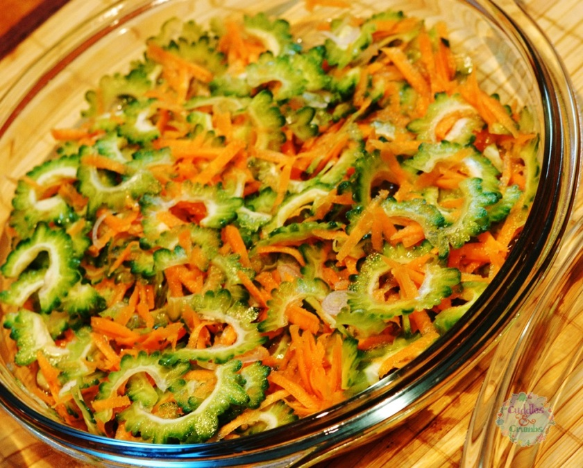 Ampalaya Salad recipe