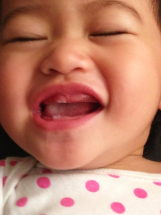 11 months tooth