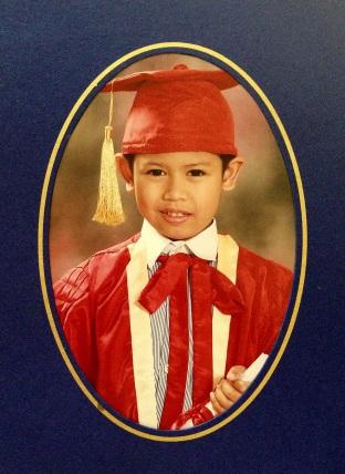 Kindergarten Graduation Photo