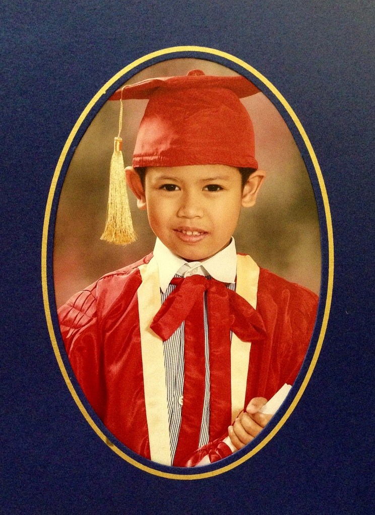 Kindergarten Graduation Photo