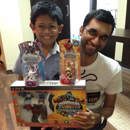 Limited E3 Skylanders Collection with Uncle Nick