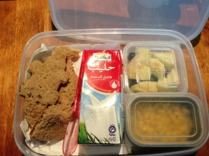 Day 2 Lunchbox