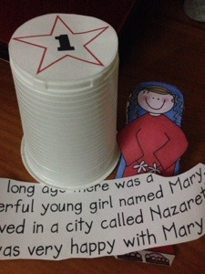Christmas Story Advent Activity