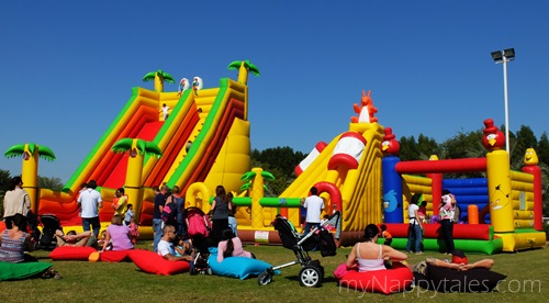 Bouncy Castles at Al Tamimi Stables