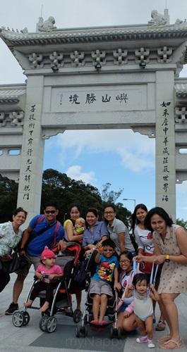 HK Tan Tian Buddha Visit