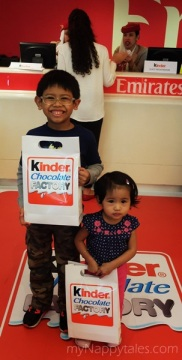 Kinder Chocolate Factory Opening