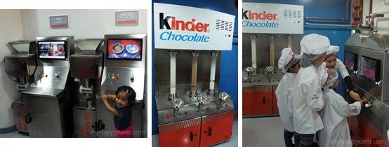 Kinder Chocolate Factory Simulation