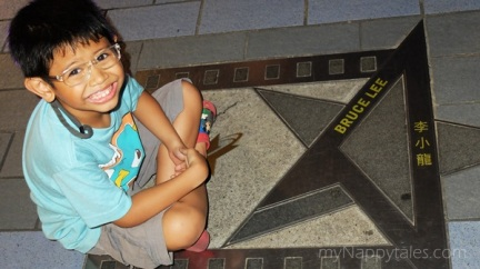 HK Avenue Stars Bruce Lee