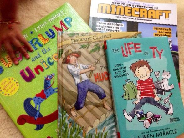 Books for April