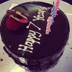 Chocolate Cake JW Marriot Hotel
