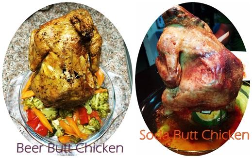 BeerSoda Butt Chicken