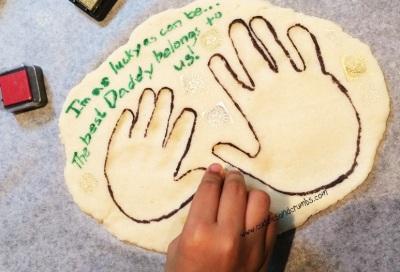 Salt Dough Handprint