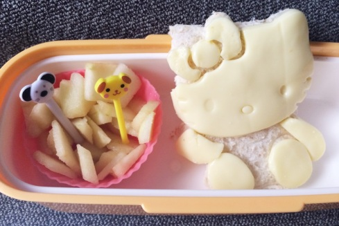 Simple Hello Kitty Bento