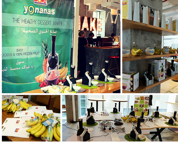 Yonanas UAE Event