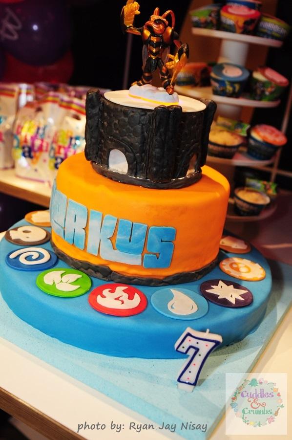 Skylanders Light Up Portal Cake Cuddles and Crumbs