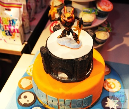 Skylanders Portal of Power Cake