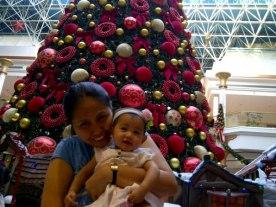 Christmas tree at Wafi Mall