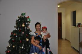 Kids with Tita Ninang Lyke
