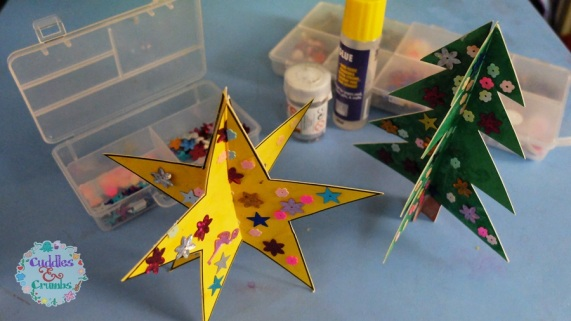 3D Star and Tree