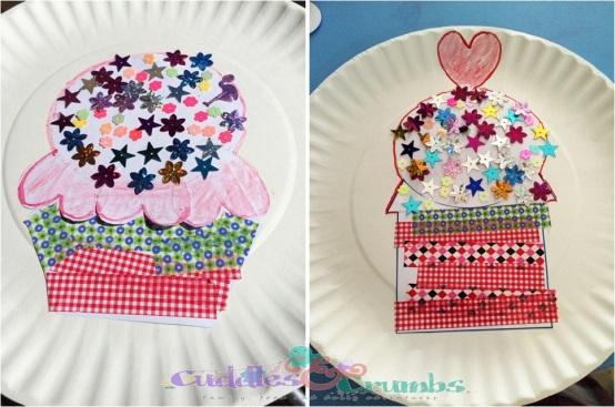 CupcakeCraftPlate