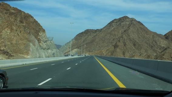 Shaikh Khalifa HiWay Mountains
