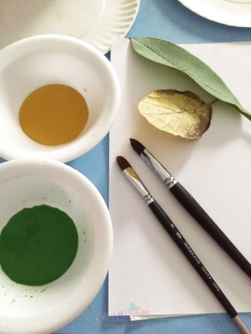 Materials Leaf Painting