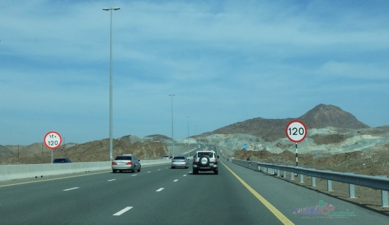 Speed Limit on Shaikh Khalifa Highway