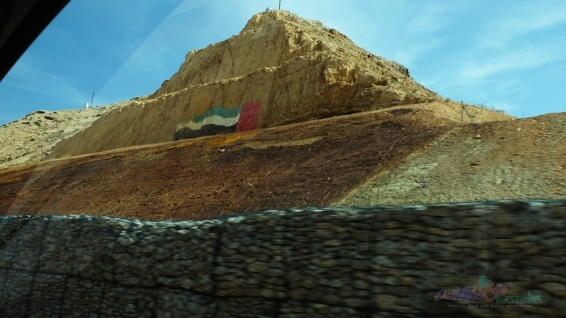 UAE Flag Mountain