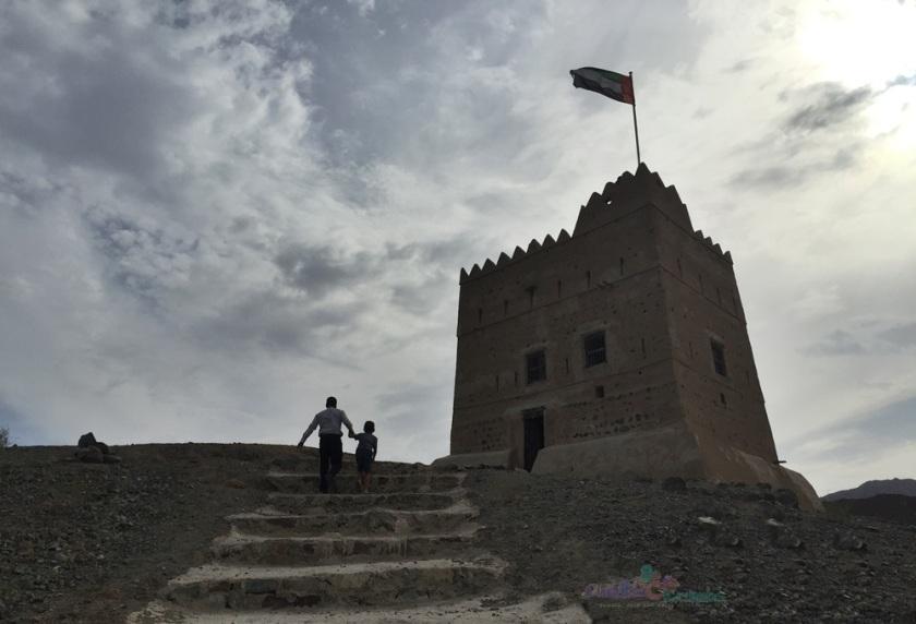 Al Hayl Fort Steps