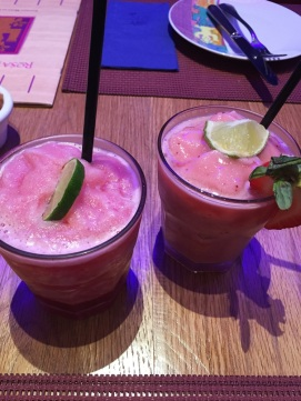 Passion Fruit & Strawberry Mojito