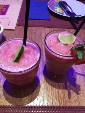 Passion Fruit & Strawberry Mojito