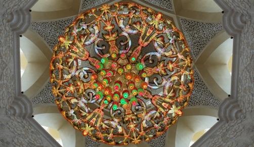 Abu Dhabi Grand Mosque Chandelier