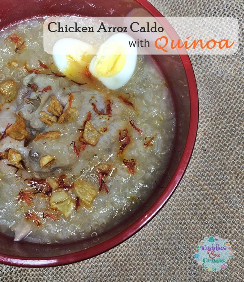 Chicken Quinoa Arroz Caldo Recipe