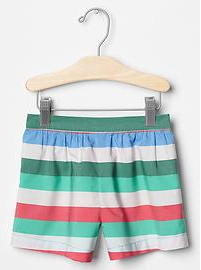 GAP Stripe Soft Shorts