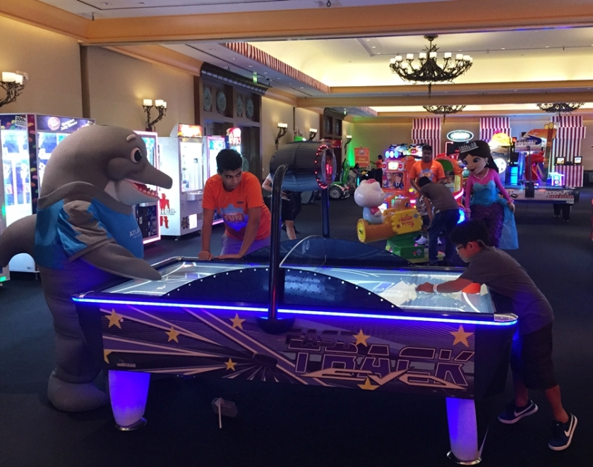Atlantis the Palm Fun Factory Air Hockey