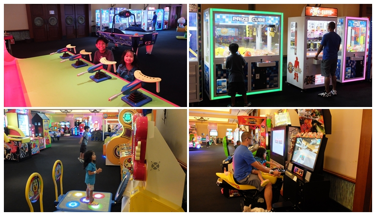Atlantis Family Fun Factory Arcade Games