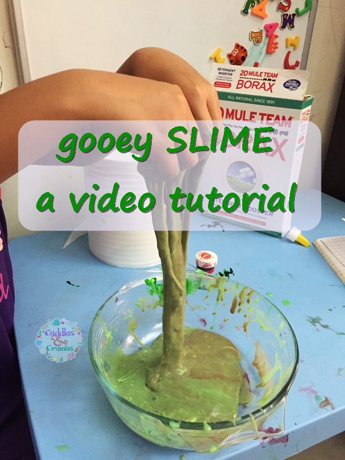 Slime video tutorial