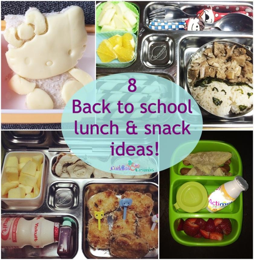 Back To School Bento Ideas