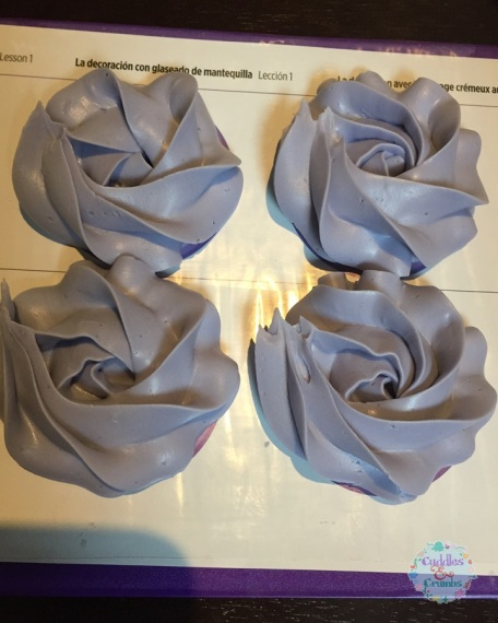 Wilton Buttercream Piping 2D Rosette