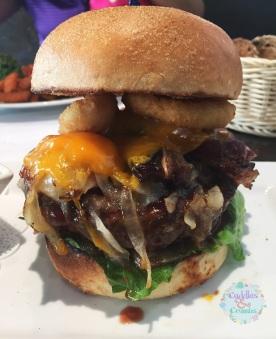 The BBQ Burger Eggspectations