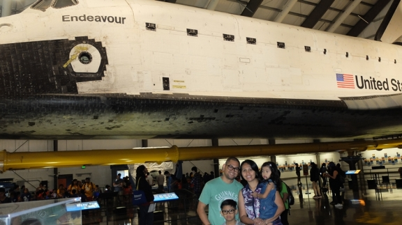 Endeavour Space Shuttle