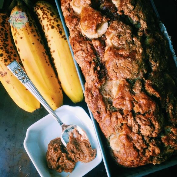 Banana Biscoff Bread