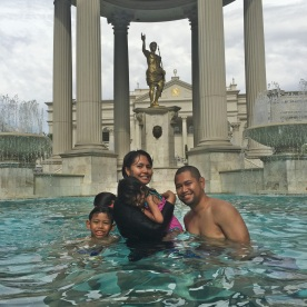 Ceasar Palace Pool Family
