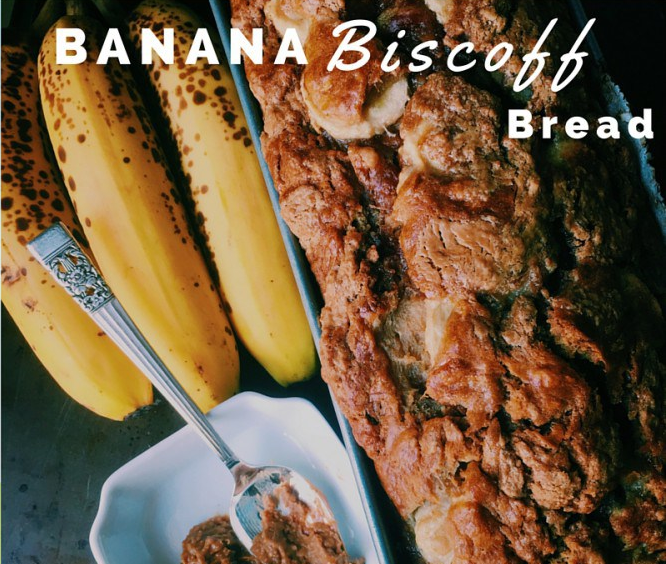 Banana biscoff bread recipe
