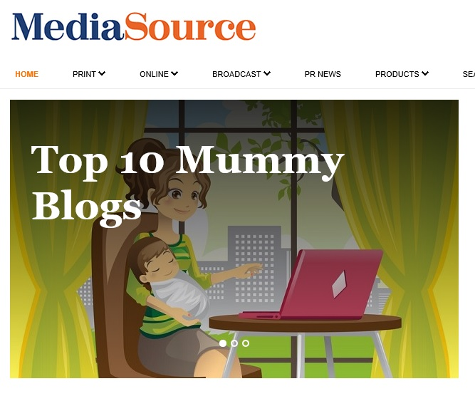media source top mummy blogs middle east