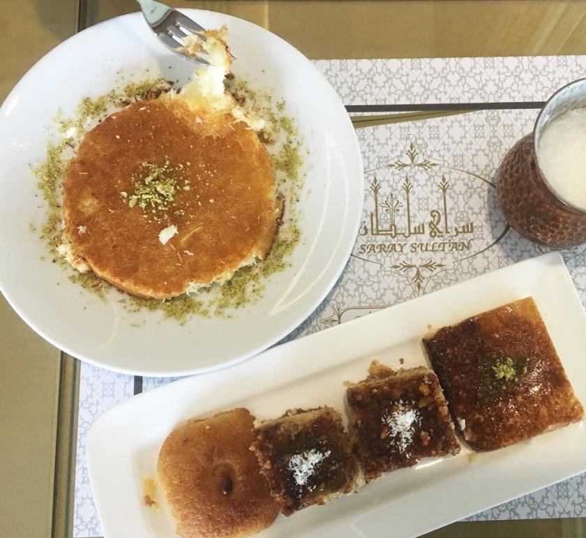 Saray Sultan Kunafa & Mix Turkish Sweets