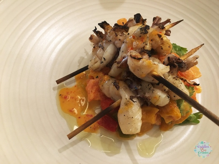 Boulevard Kitchen Grilled Calamari